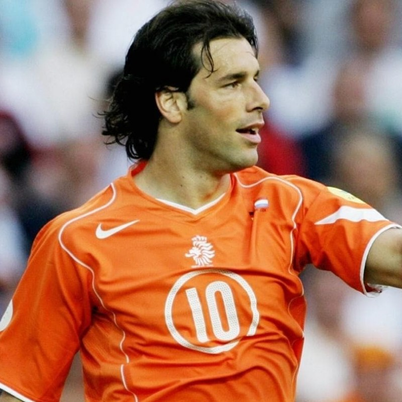 Van Nistelrooy's Official Netherlands Signed Shirt, 2004