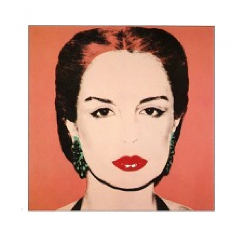 """Carolina Herrera"" by Andy Warhol"