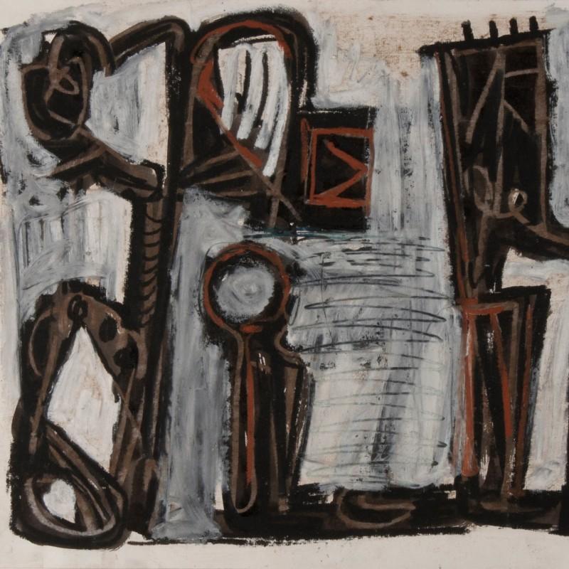 """""""Untitled"""" by Mark Lüpertz"""