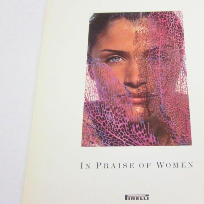 """The Cal"" Pirelli 1994 Calendar Girls, signed and dedicated by  Alberto Pirelli"