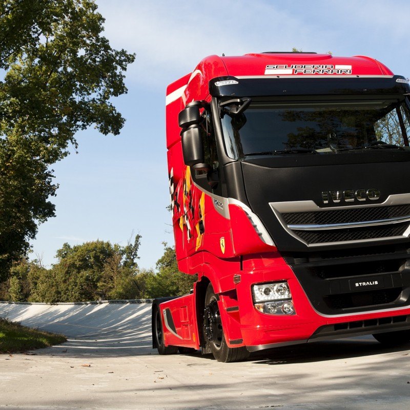 New Stralis XP TCO2 Champion in exclusive Scuderia Ferrari livery