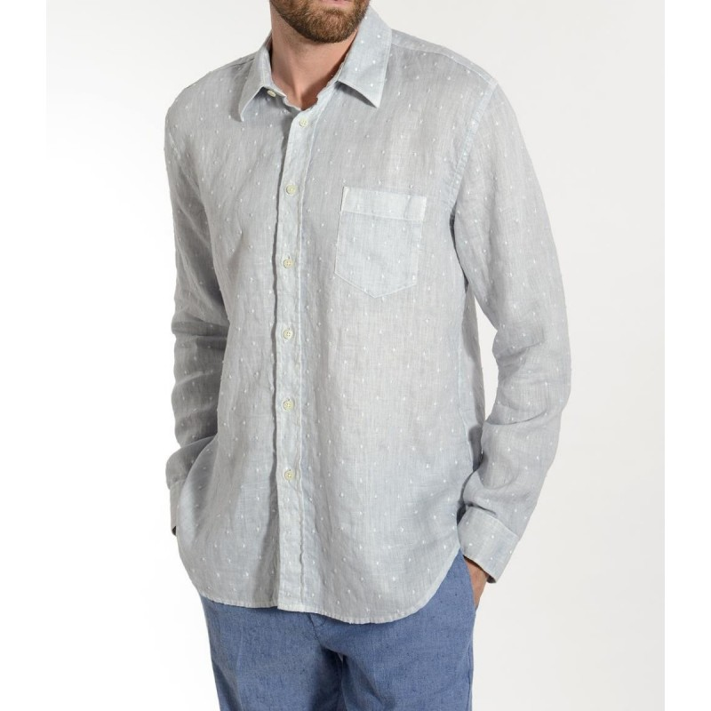 STONE SOFT Men's Shirt by 120% Lino