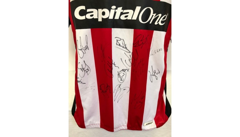 Sheffield United Official Match Shirt, 2006/07 - Signed by the Squad