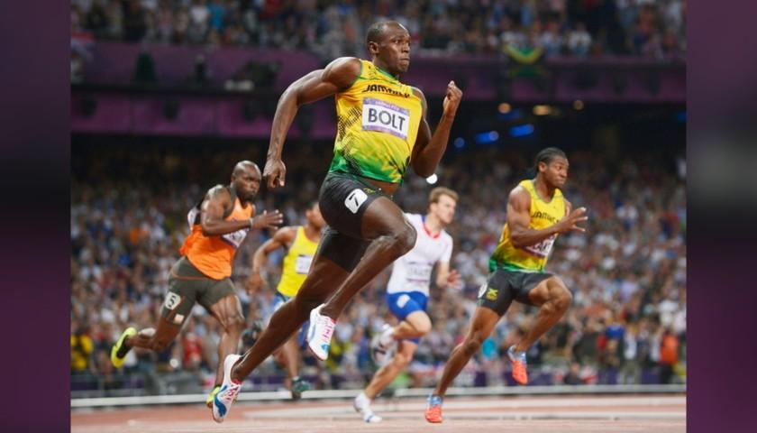 Puma Cap Signed by Usain Bolt