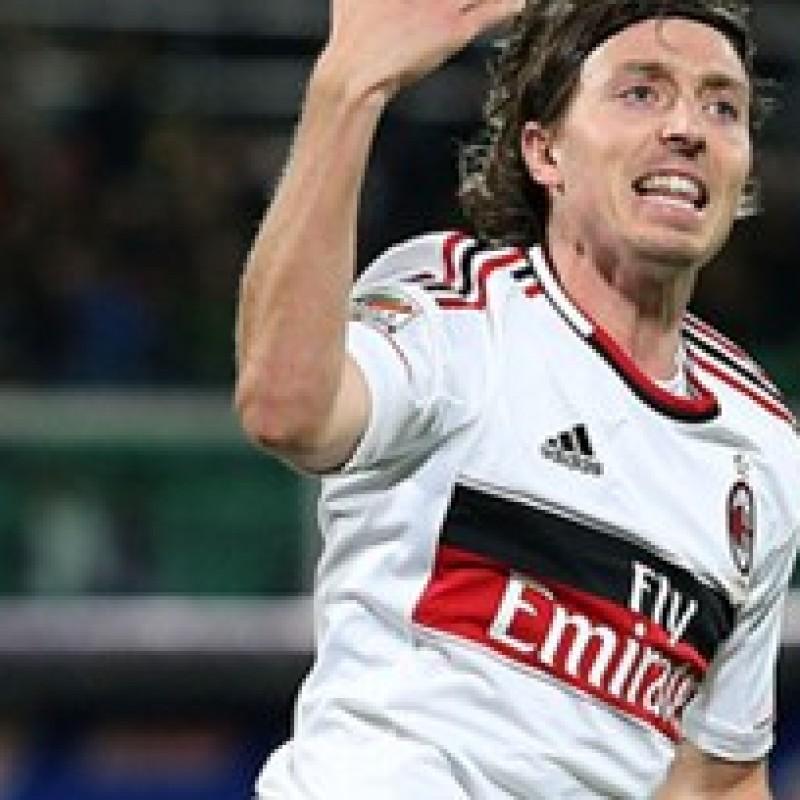 Montolivo Milan match worn shirt, Serie A 2012/2013