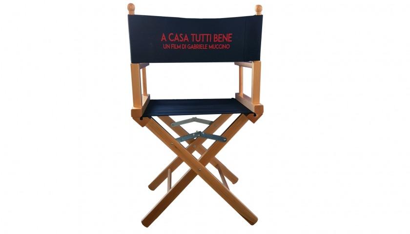 Sedia Da Regista Con Nome.Sedia Da Regia Utilizzata Sul Set Del Film Di Gabriele Muccino A