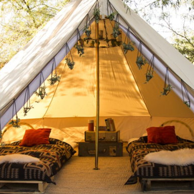 Two-nights Wonderful Glamping Break for Two