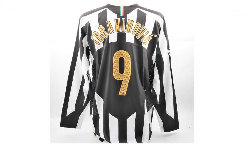 78814b95c09 Ibrahimovic s Match-Issued Worn Juventus Shirt