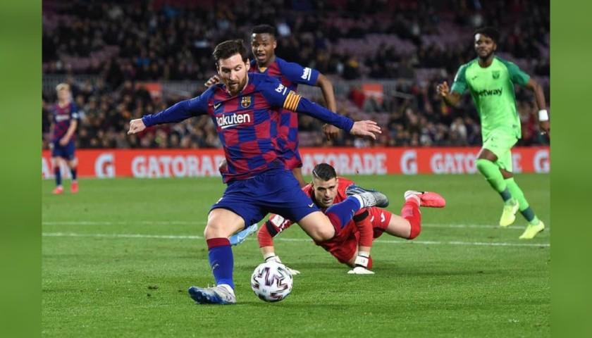 Adidas Nemeziz Boots - Signed by Lionel Messi