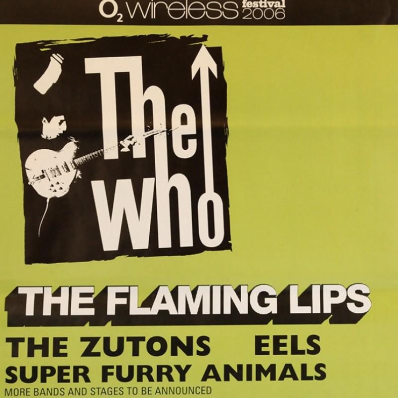 The Who Original UK Tour Poster