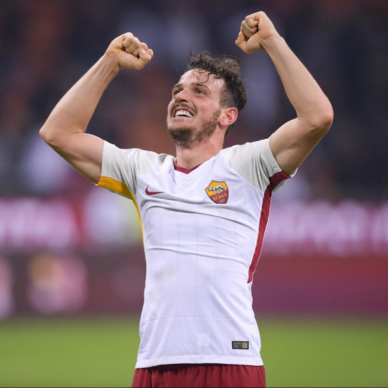 Florenzi's AS Roma Match-issue Shirt, Serie A 2017/18