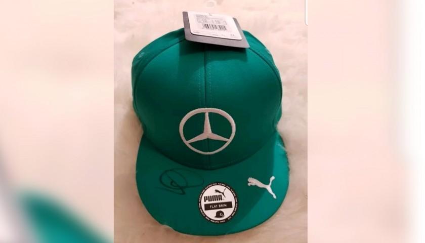Hamilton's Official Signed Cap, Malaysia 2014
