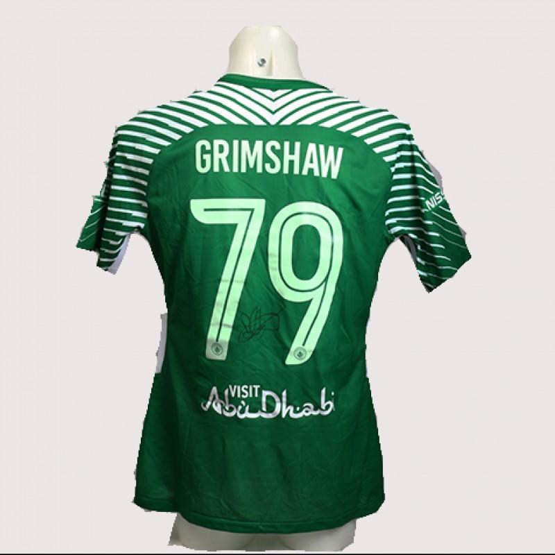 Daniel Grimshaw Match-Worn Signed Manchester Derby Shirt