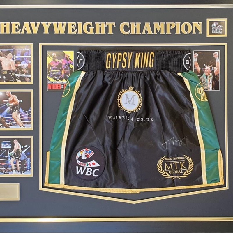 Tyson Fury Signed Trunks