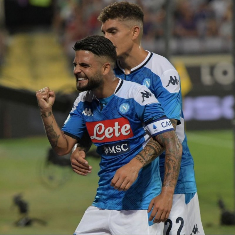 Insigne's Official Napoli Shirt - Signed by the Squad