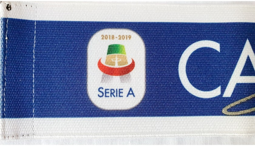 Serie A Captain's Armband 2018/19 - Signed by Cristiano Ronaldo
