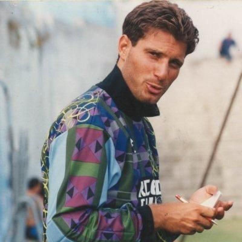 Taglialatela's Napoli Signed Match Shirt, 1995/96