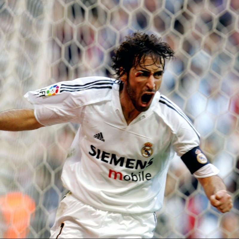 Raul's Official Real Madrid Signed Shirt 2004/05