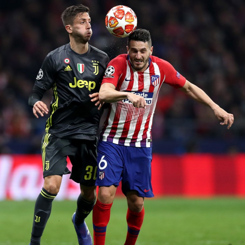 Koke's Match Shirt, Atletico Madrid-Juventus 2019
