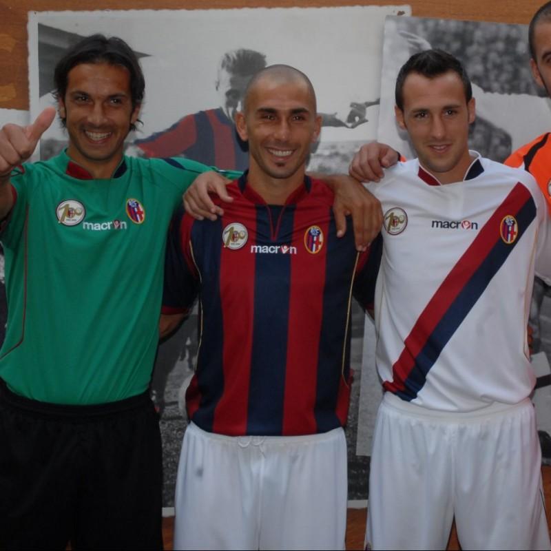 Di Vaio's Bologna Centenary Match Shirt, 2009/10