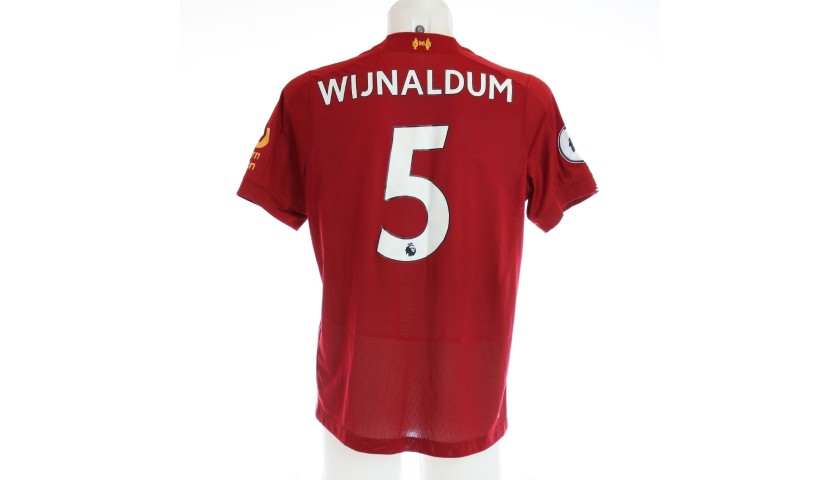 Wijnaldum's Issued and Signed Limited Edition 19/20 Liverpool FC Shirt
