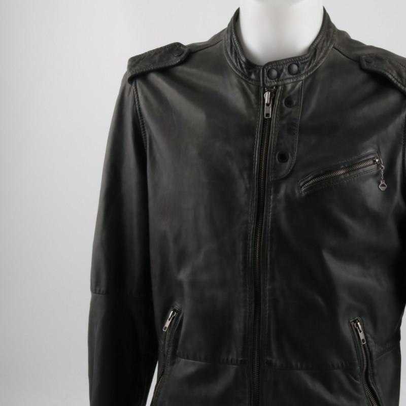 Diesel man leather jacket