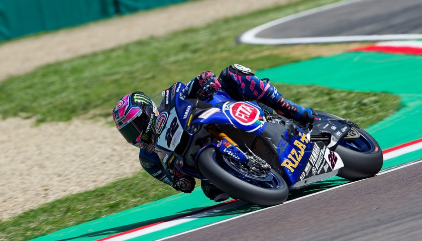 Alex Lowes' Worn and Signed TCX Boots