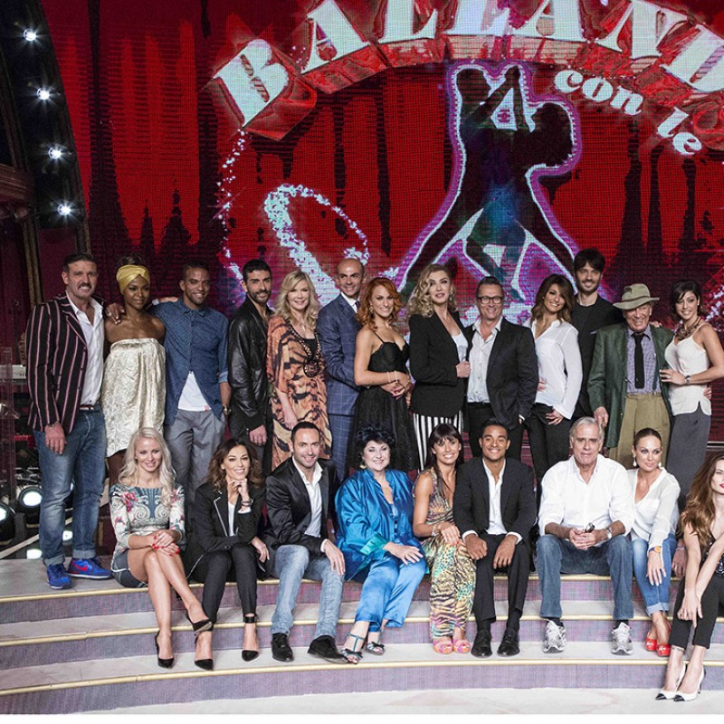 "Go backstage of ""Dancing with the stars"" with Guillermo Mariotto"