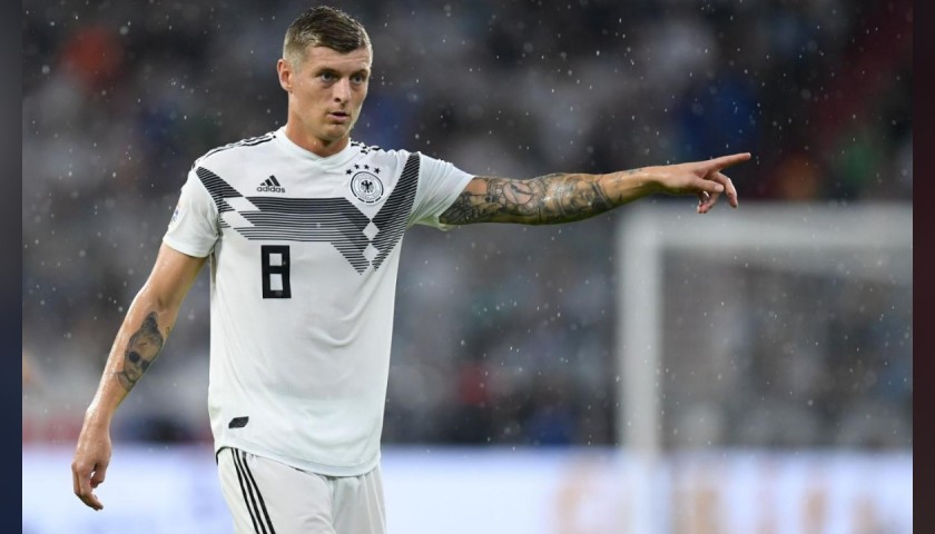 Kroos's Official Germany Signed Shirt, 2018/19