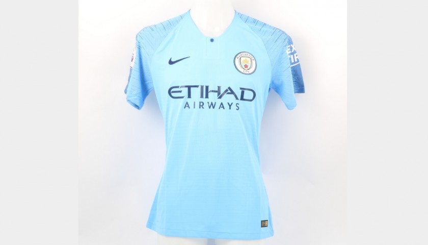 official photos f543e ce2cc Foden's Manchester City Kit, Premier League 2018/19 - CharityStars