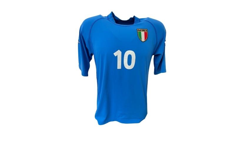 Totti's Italy Match Shirt, 2000/02