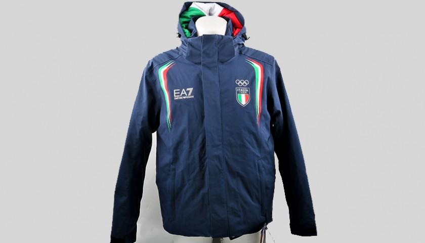 e02bc7dc1c Tuta EA7 Italia Team - Olimpiadi Pyeongchang 2018 - CharityStars