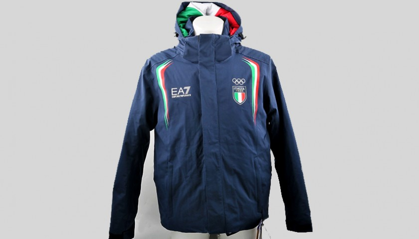 online store daa22 4e7e6 Tuta EA7 Italia Team - Olimpiadi Pyeongchang 2018 - CharityStars