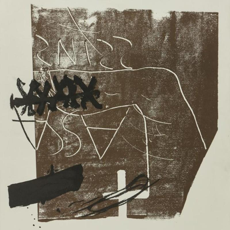 """Untitled"" by Antoni Tàpies"