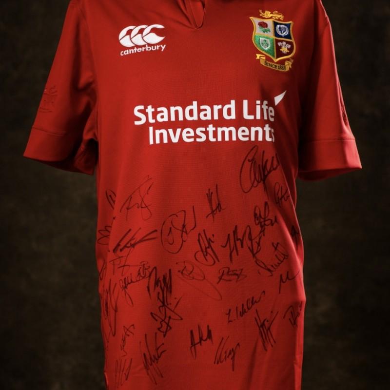 Lions 2017 New Zealand Tour Signed Shirt