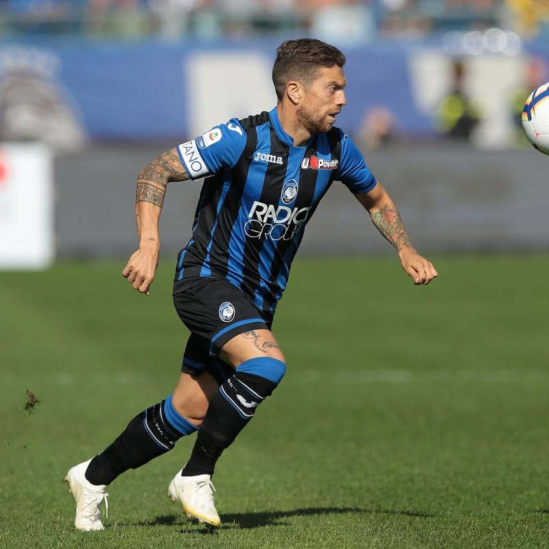 Gomez's Official Atalanta Kit, 2018/19 - Signed