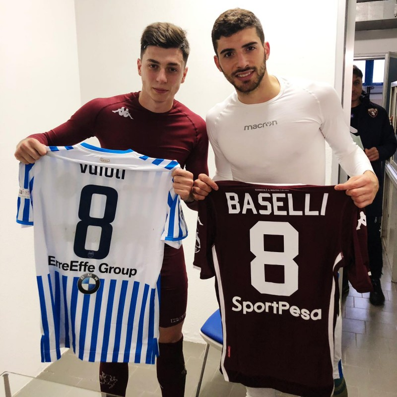 4724d7788 Baselli s Worn and Signed Shirt