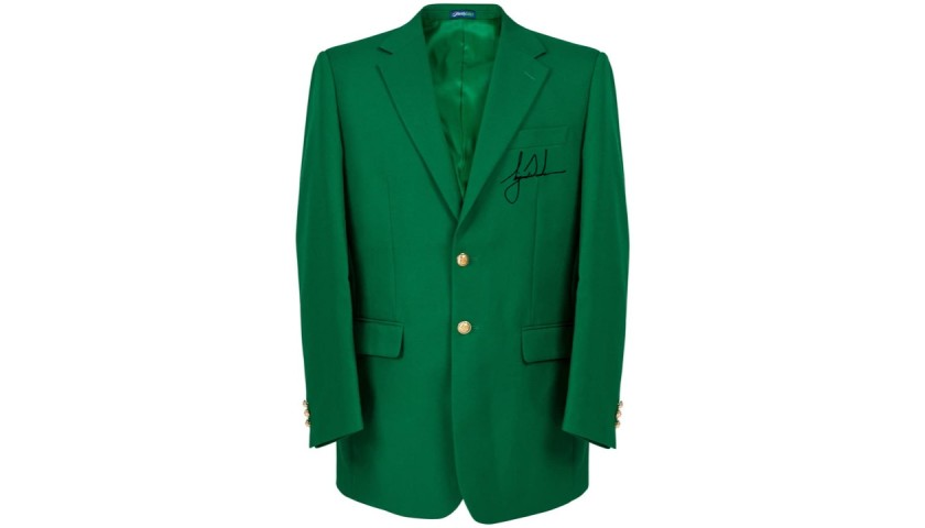 Tiger Woods Green Masters Jacket with Digital Autograph