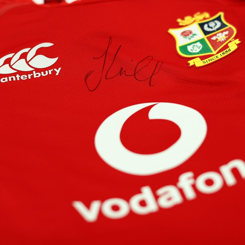 Lions 2021 Test Shirt - Worn and Signed by Jonny Hill
