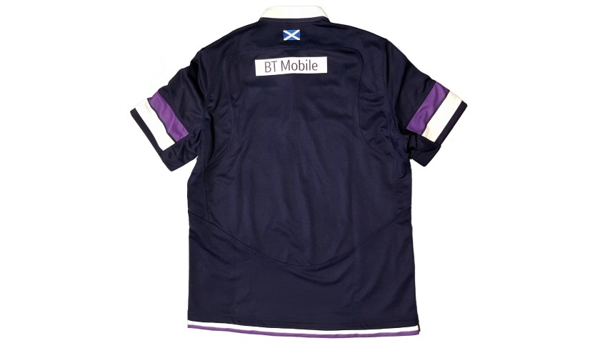Official Scotland Rugby Shirt, 2017 - Signed by the Squad
