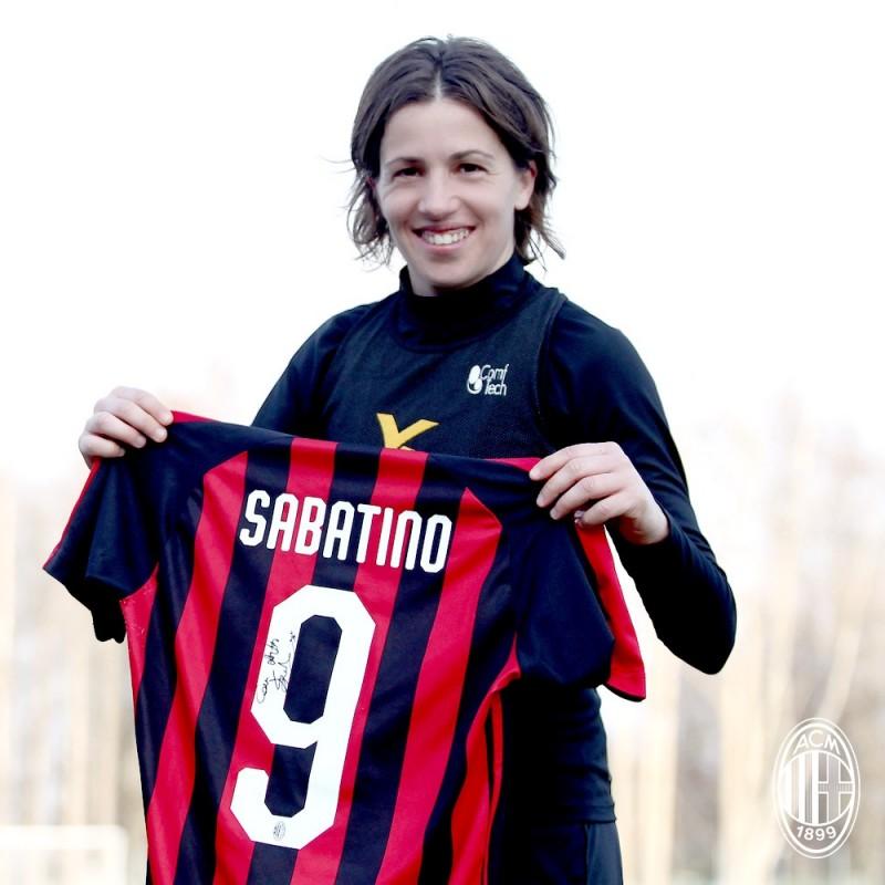 75078284b Sabatino s Worn and Signed Shirt