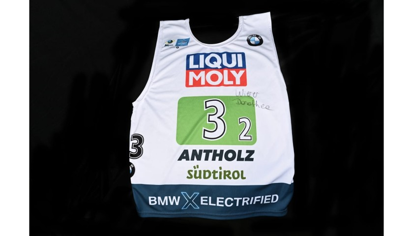 Dorothea Wierer's Signed Race Bib and Suit