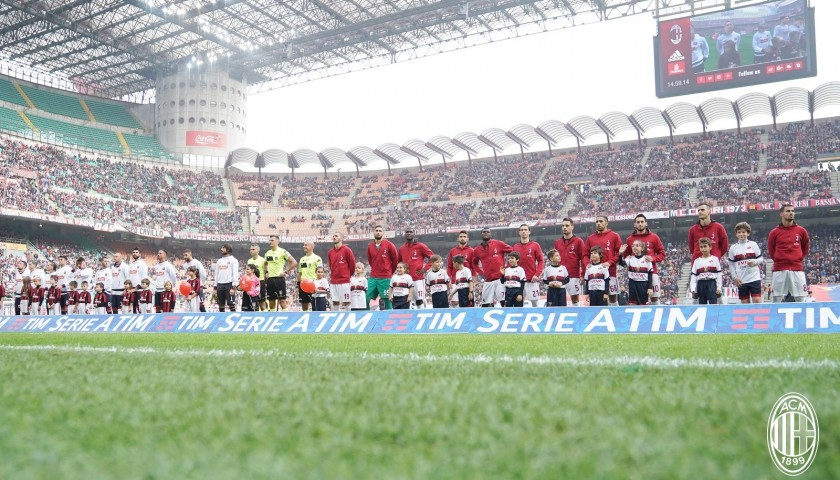 Be a Mascot for the Milan-Inter Tim Cup Match