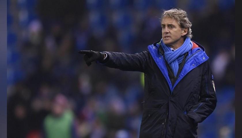 Ermanno Scervino Italy Football Team-Issued Jacket, 2018 Season