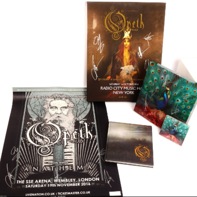 Opeth Signed Memorabilia