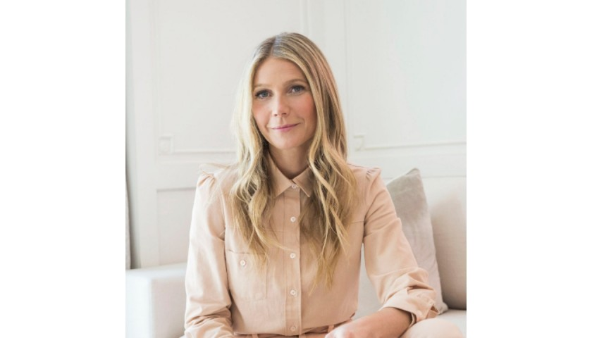 Gwyneth Paltrow's Goop Basket Including Signed Books and More