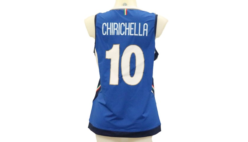 Chirichella's Italy Worn Shirt, World Volleyball Championship Final 2018
