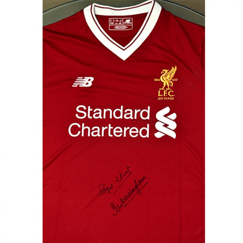 Liverpool FC 125 Years Home Shirt Signed by Paisley's Army