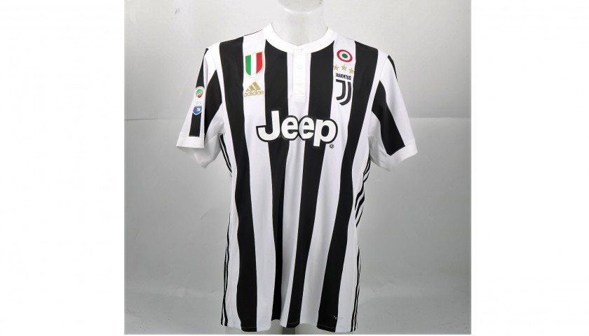 Signed Official Dybala Juventus Shirt, 2017/18