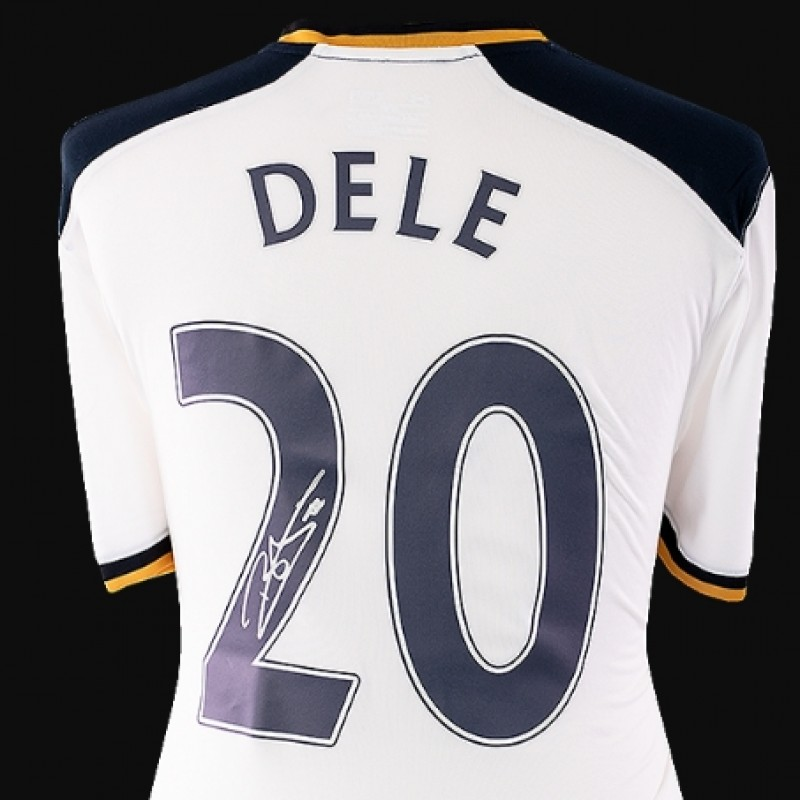 Dele Alli Back Signed Tottenham Hotspur 2016-17 Home Shirt